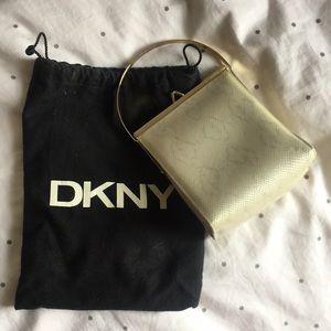 DKNY faux snake mini purse. Dust bag included.